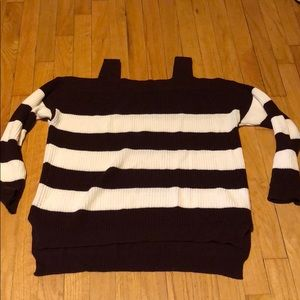 NWOT NY&Co off the shoulder sweater